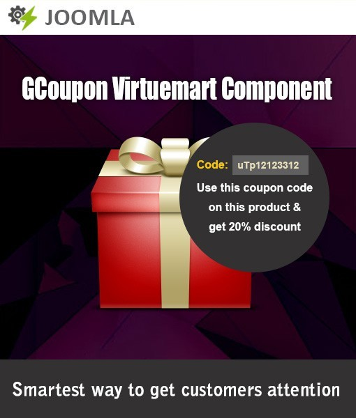 GCoupon VirtueMart