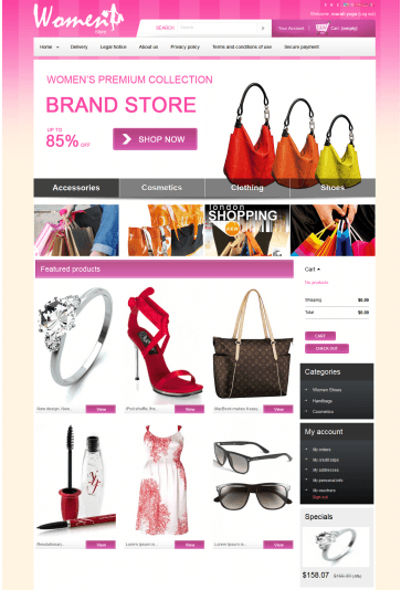 Women Store Theme