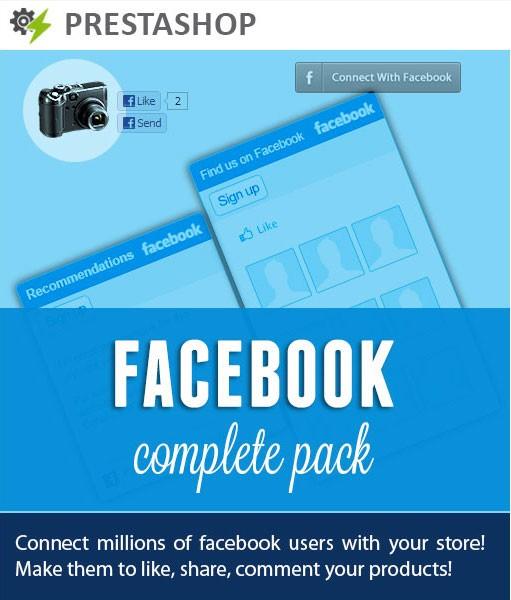 PrestaShop Facebook Pack