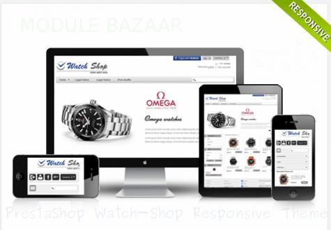 PrestaShop Watch-Shop Responsive Theme