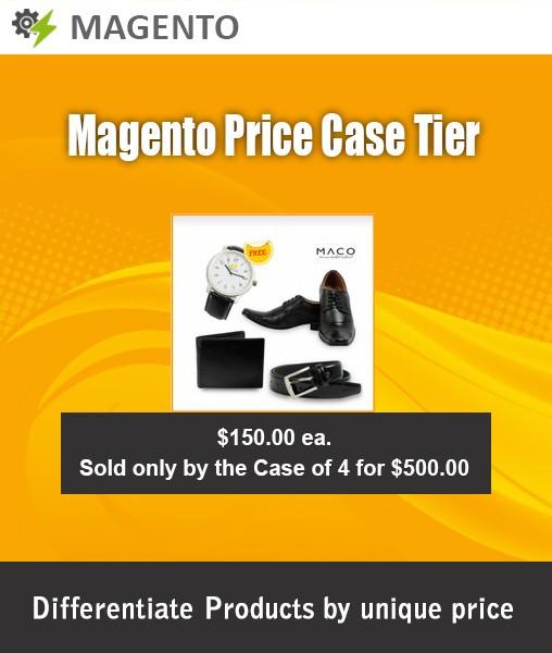 Magento Price Case Tier