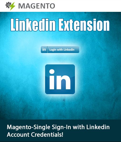 Magento LinkedIn Login Extension