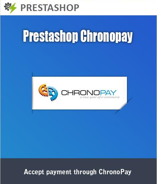 Prestashop Chronopay
