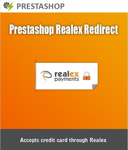 PrestaShop Realex Redirect Module for secure Credit card