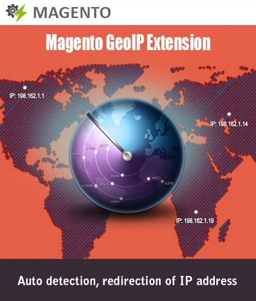 Module bazaar - magento-geoip-module