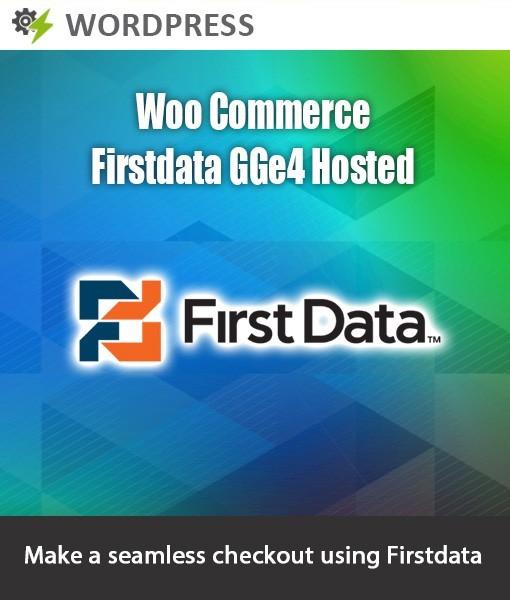 Module bazaar - wordpress-woo-commerce-firstdata-gge4-hosted