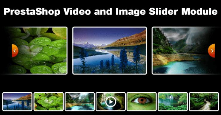 PrestaShop Video Image Slider
