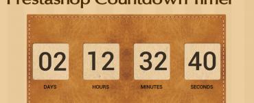PrestaShop CountDown Timer