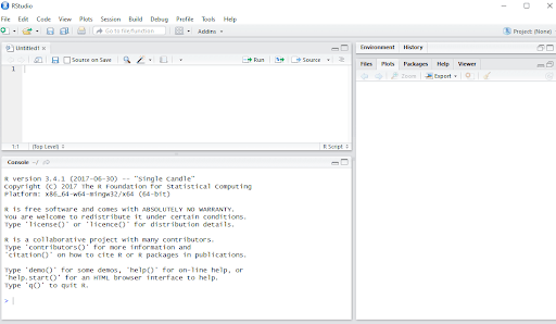 Rstudio workspace