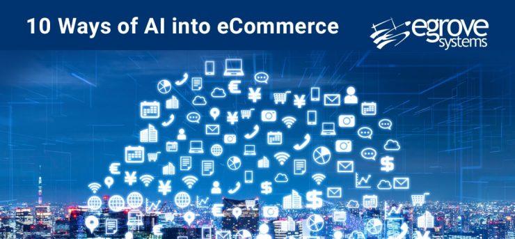 10 Ways of AI into eCommerce