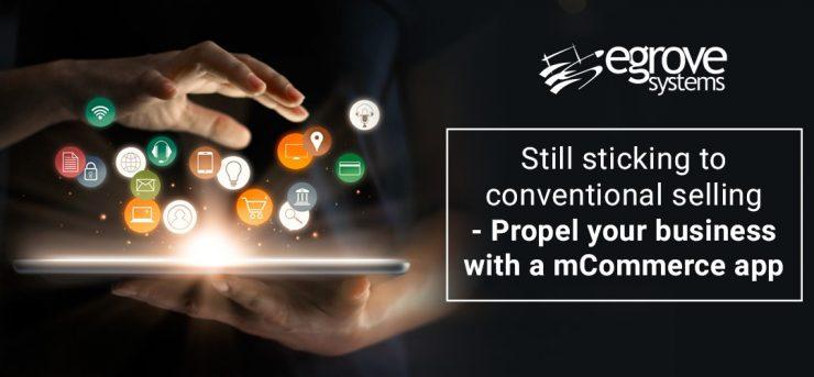 mCommerce mobile app