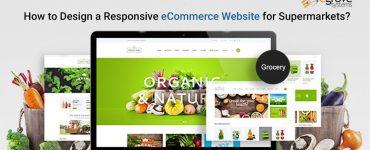 Responsive web development for super markets