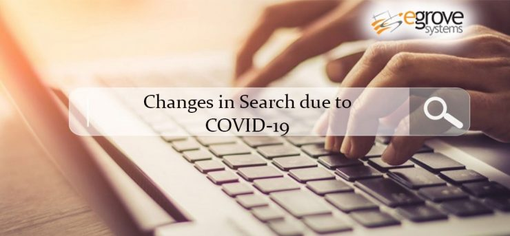 Search trends due to COVID-19