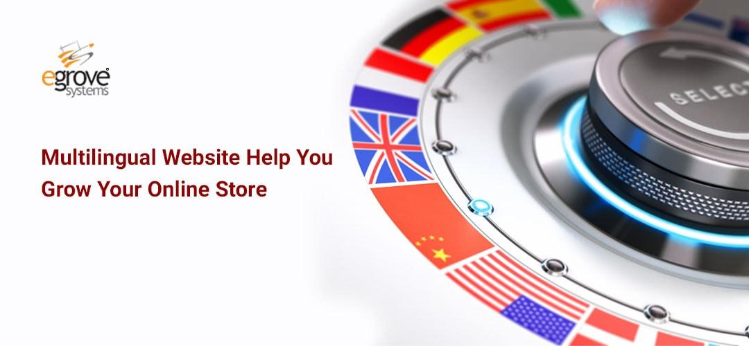 Multilingual website for online store