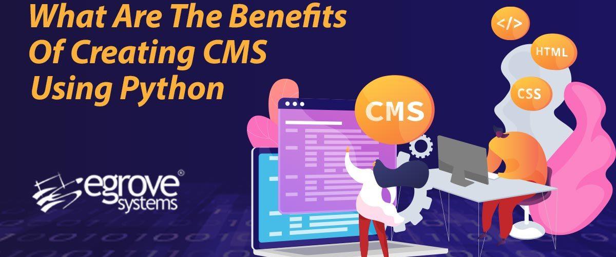 create CMS using Python