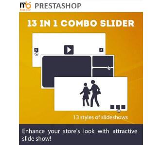 PrestaShop 13 Images in 1 – Combo Slider Module