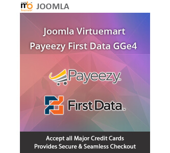 Joomla Virtuemart Payeezy First Data GGE4 Extension