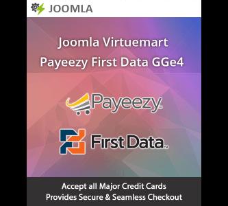 Joomla Virtuemart Payeezy First Data GGE4 Extension