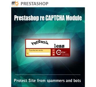 PrestaShop  re-Captcha Module