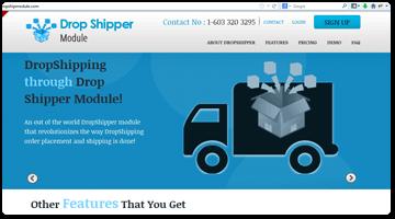 Drop ship module