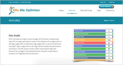 Elite Site Optimizer Site