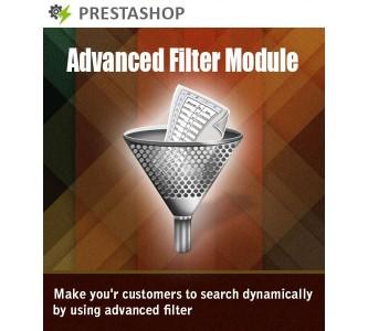 PRESTASHOP FLEXI SEARCH + ADVANCED FILTER MODULE