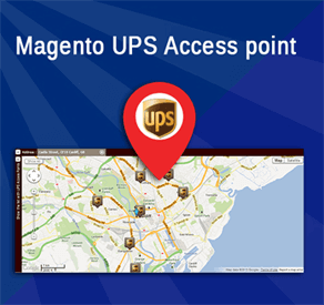 UPS Access Point in Magento