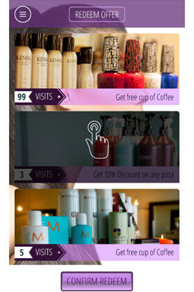 Best Salon App | Reward Points App