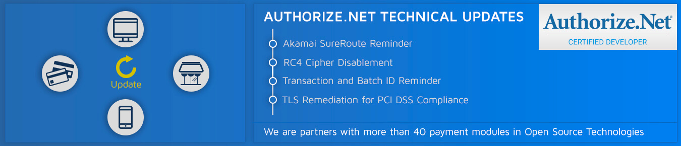Authorize.Net Technical Updates
