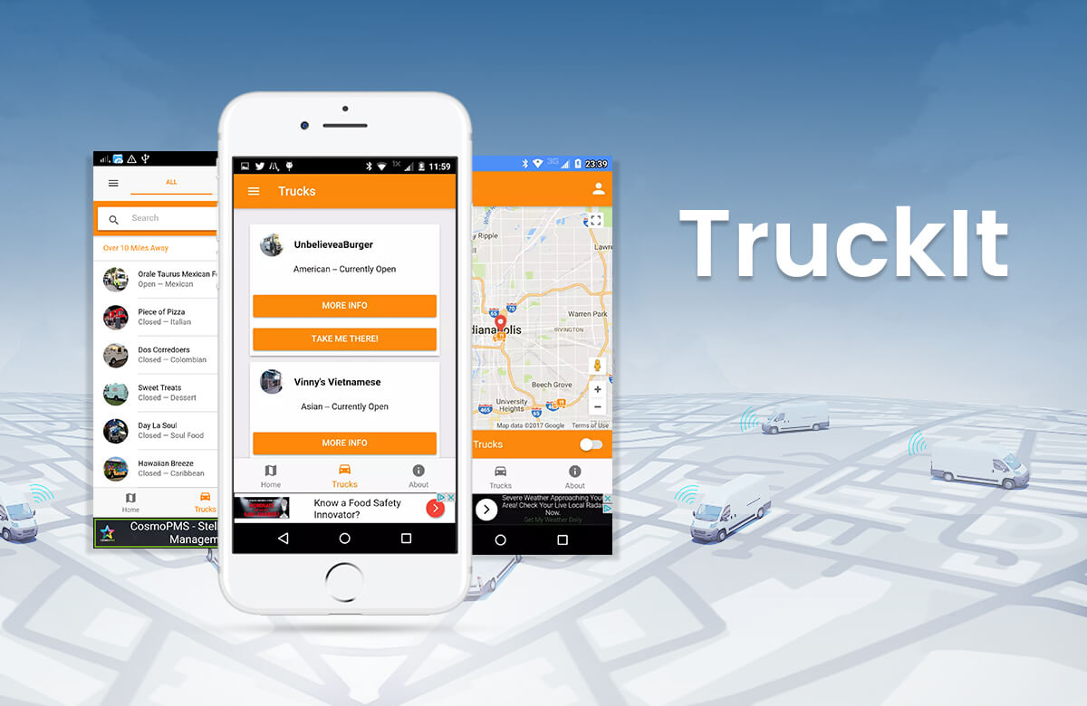 Tracking Mobile App