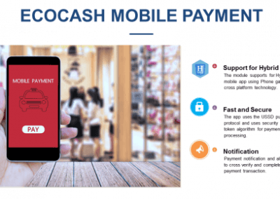 Ecocash – Taxi Mobile App Payment Integration