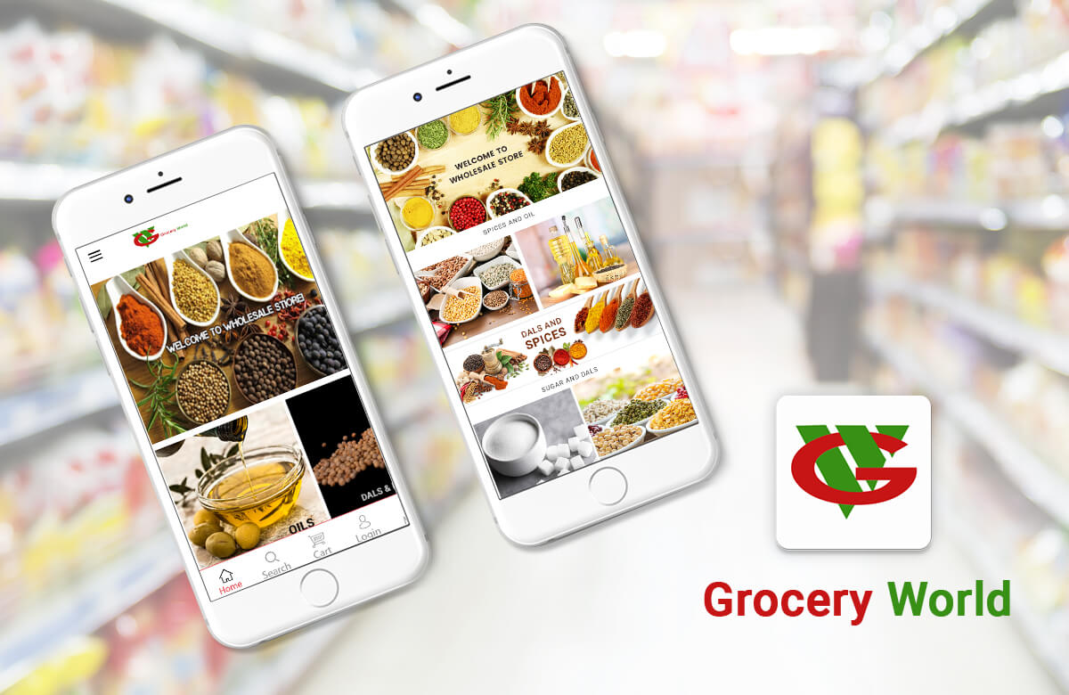 Grocery World Mobile App
