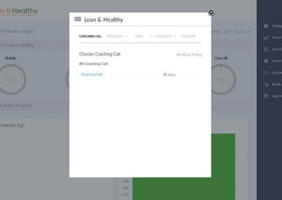 Lean and Healthy Screen 4