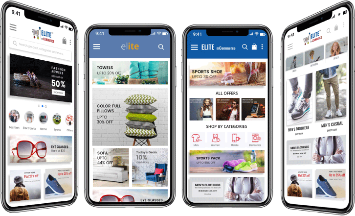 COMMERCE STORE INTO A MOBILE APP