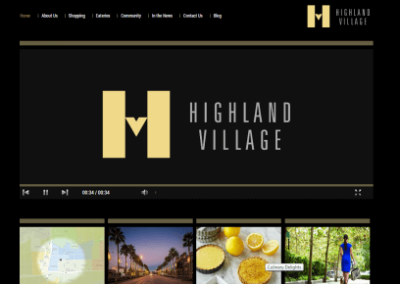 Shop Highland Village