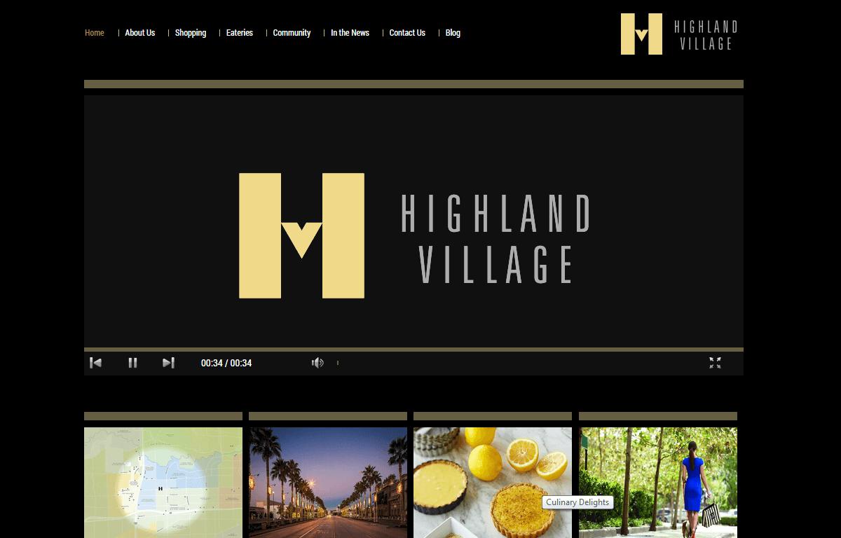 Shop Highland Village