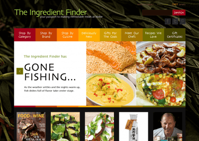 the ingredient finder